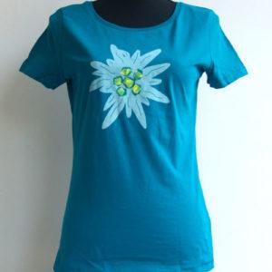 Dames T-shirt (edelweiss)